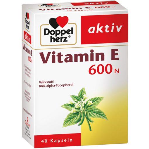vien uong bo sung vitamin e 600n doppelherz aktiv duc