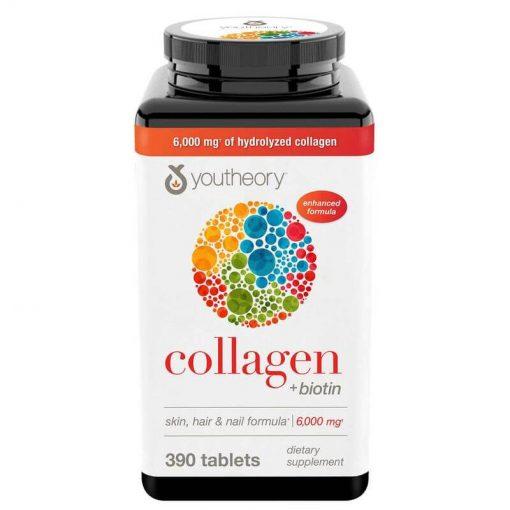 vien uong collagen youtheory type 1 2 3 biotin