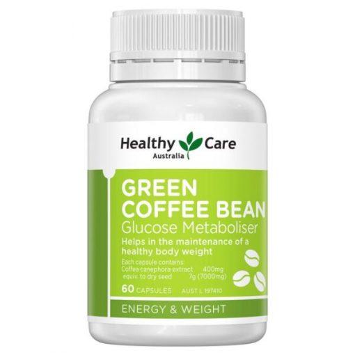 vien uong giam can healthy care green coffee bean