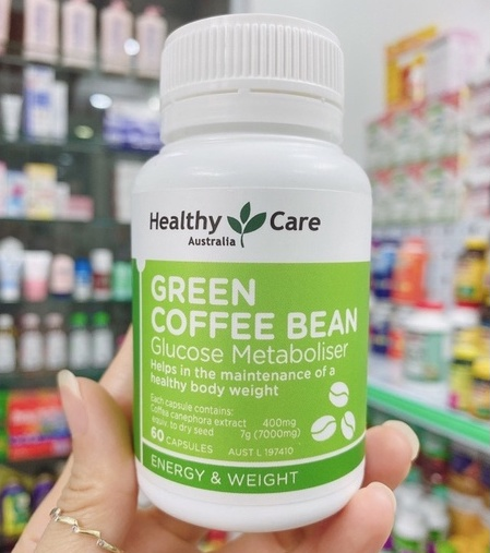 vien uong giam can healthy care green coffee bean cua UC