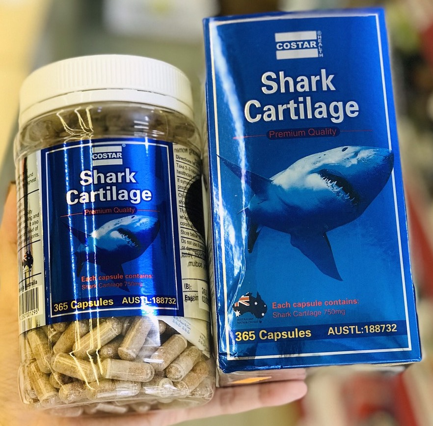 vien uong sun vi ca map costar shark cartilage 750mg