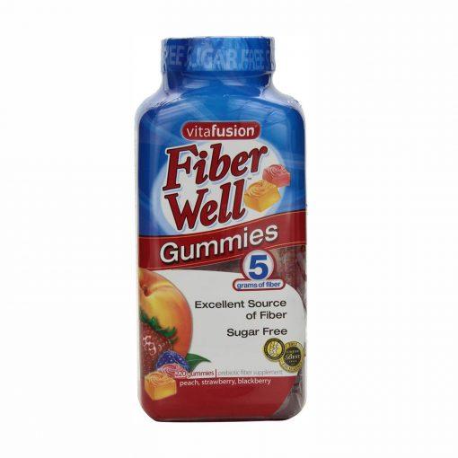 vitafusion fiber well sugar free 220 gummies usa