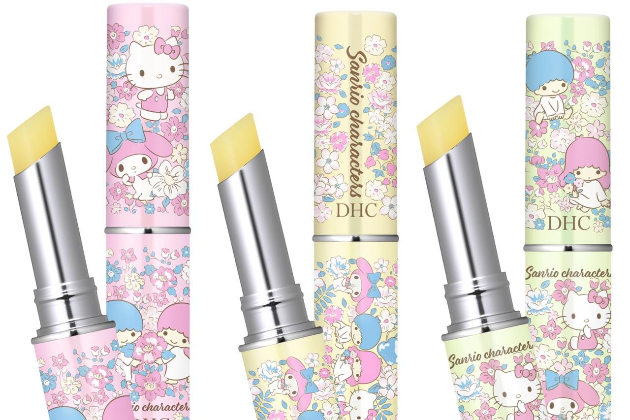 combo 3 son duong dhc medicinal lip cream sanrio characters