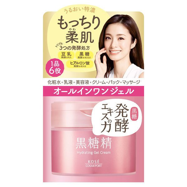 kem duong da chong lao hoa kose hydrating gel creal 6in1 90g
