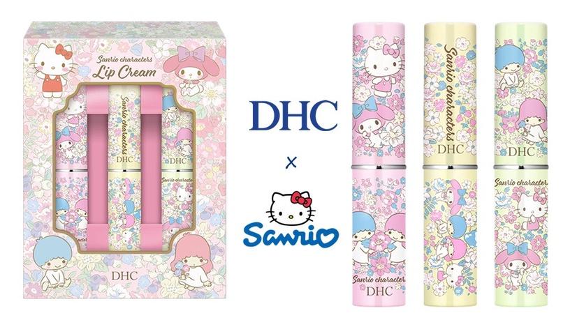 set 3 son duong dhc medicinal lip cream sanrio characters