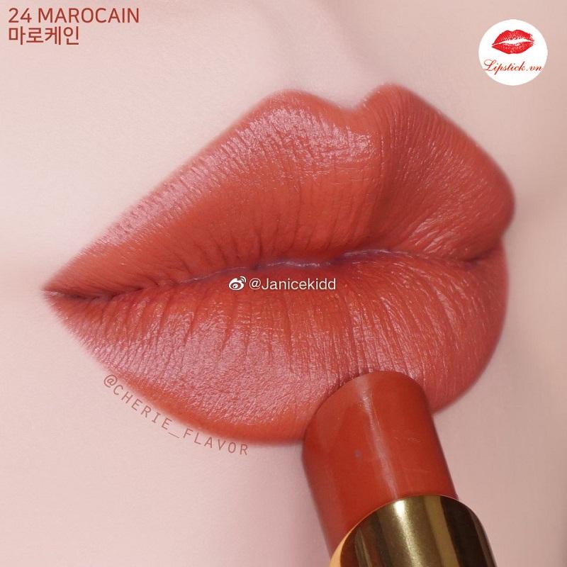 son tf 24 marocain satin matte on lip
