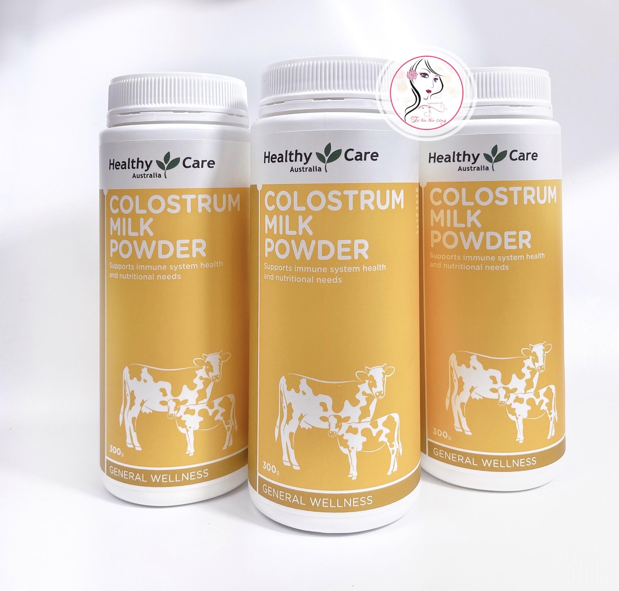 sua bo non healthy care colostrum milk powder cua uc