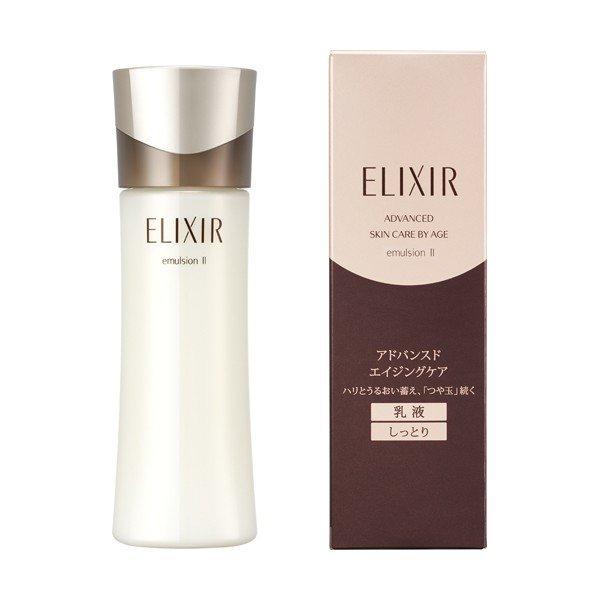 sua duong chong lao hoa shiseido elixir advanced skin care by age emulsion