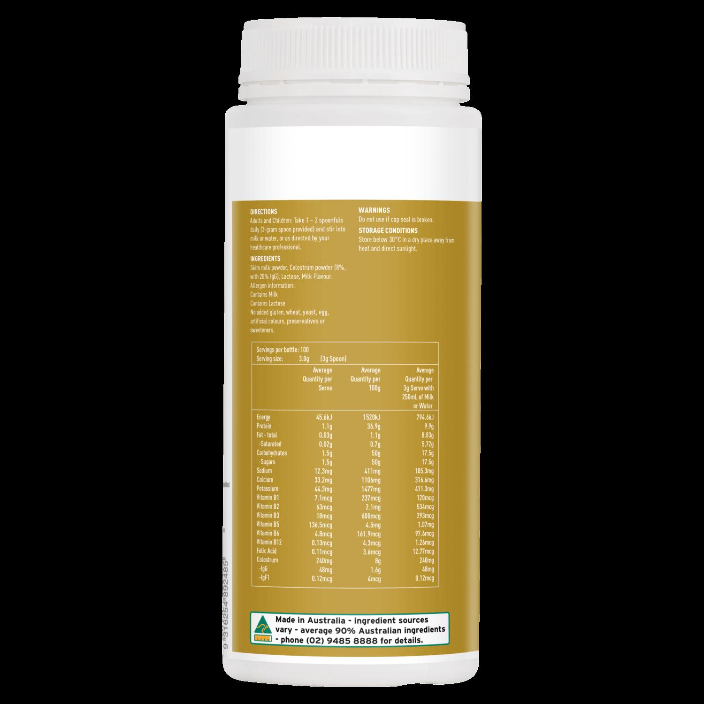 thanh phan sua bo non healthy care colostrum milk powdersua bo non healthy care colostrum milk powder